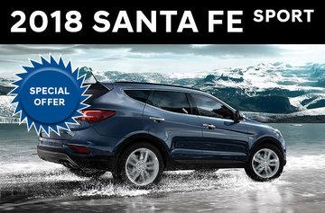Hyundai 2018 Santa Fe Sport 2.4L FWD
