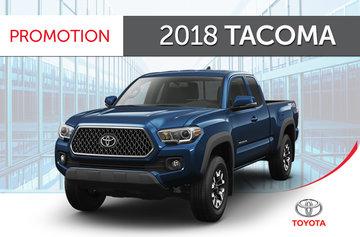2018 Tacoma 4X4 Access Cab 6A