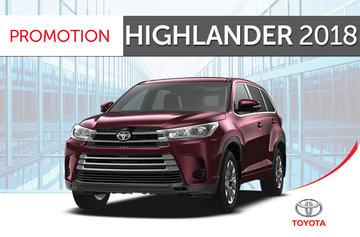 Toyota Highlander V6 AWD 2018