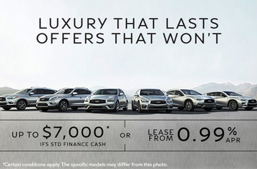 Luxury that lasts. Offers that won't.