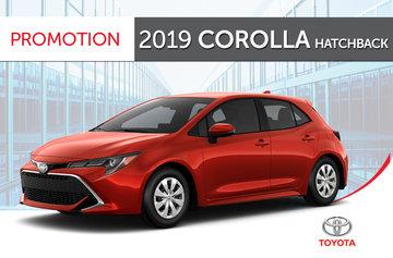 2019 Corolla hatch