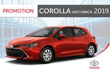Corolla hatch 2019