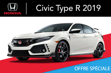 Honda Civic Type R manuel 2019