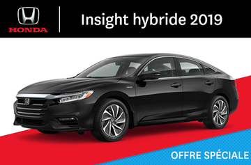 Honda Insight hybride E-CVT 2019
