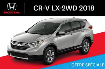 Honda CR-V LX-2WD C-CVT 2018