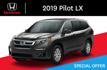 2019 Honda Pilot A LX