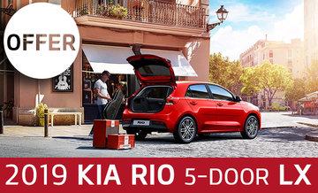 2019 Rio 5-door LX+