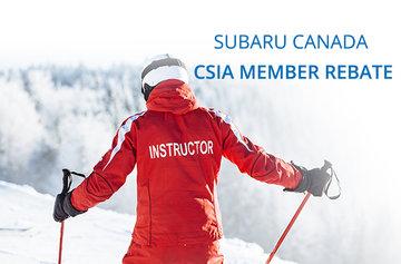 Subaru Canada CSIA Member Rebate