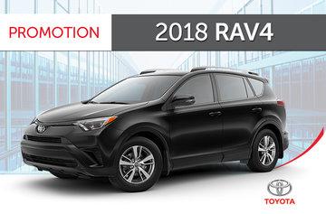2018 RAV4 AWD LE