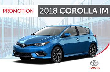 2018 Corolla iM 6M