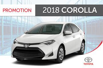 2018 Corolla CE 6M