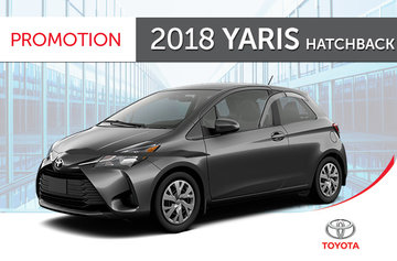 2018 Yaris Hatchback