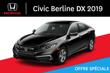 2019 Civic Berline DX Manuel