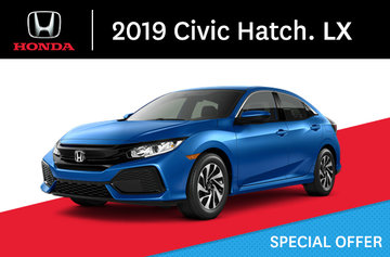 2019 Civic Hatchback LX Manual