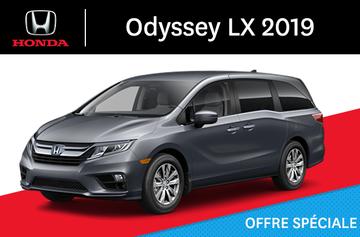 2019 Odyssey LX Automatique