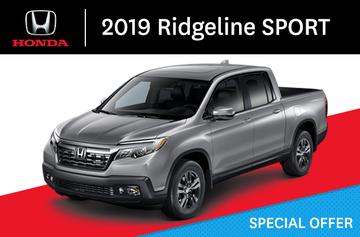 2019 Ridgeline SPORT A-Automatic