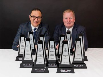 La valeur Toyota domine de nouveau l'industrie automobile canadienne : Toyota remporte le plus grand nombre de prix pour la valeur résiduelle et pour la meilleure valeur retenue d'ALG et du Canadian Black Book