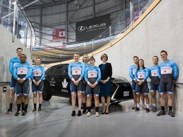 Lexus Canada et Cyclisme Canada renouvellent leur partenariat