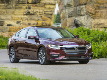 The first tests of the 2019 Honda Insight