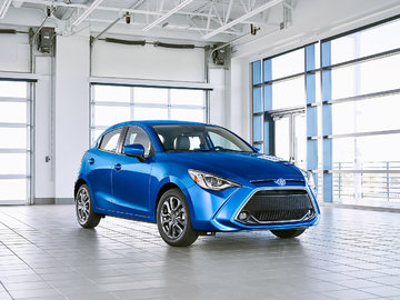 The new 2020 Toyota Yaris unveiled in New York