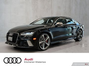 2016 Audi RS 7 4.0T quattro 8sp Tiptronic