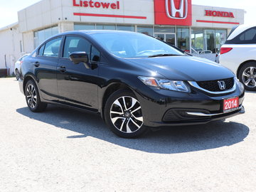 2014 Honda Civic Sedan EX- ACCIDENT FREE, TEST DRIVE TODAY, CERTIFIED