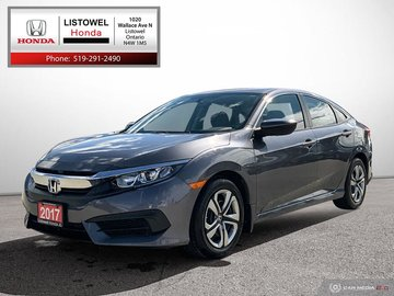 2017 Honda Civic Sedan LX-ONE OWNER, ACCIDENT FREE