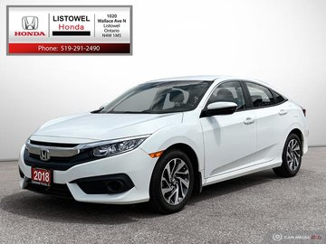 2018 Honda Civic Sedan SE- EXCELLENT CONDITION, LIKE NEW, HONDA CERTIFIED