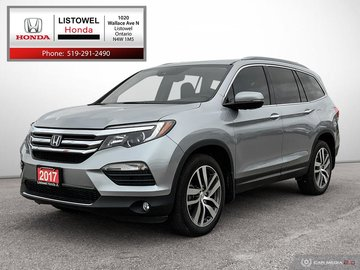 2017 Honda Pilot Touring- SAVE THOUSANDS $$$ OVER NEW, NO ACCIDENTS