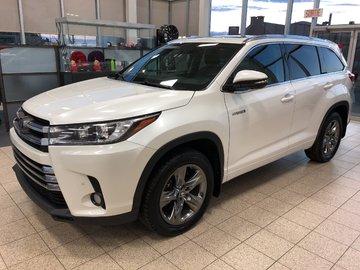 2017 Toyota Highlander hybrid Limited HYBRIDE CUIR BLUETOOTH GPS 4X4