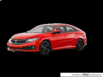 2019 Honda Civic CIVIC 4DR SPORT CVT