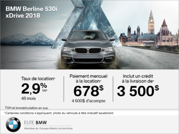 BMW 530i xDrive Berline 2018