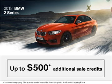 2018 BMW 2 Series - The Black Friday Event.
