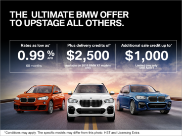 The Ultimate BMW Offer!