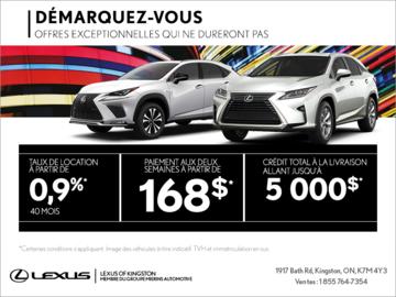 L'Événement Démarquez-vous de Lexus!
