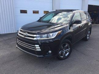 Toyota Highlander LIMITED AWD CUIR GPS TOIT 2017