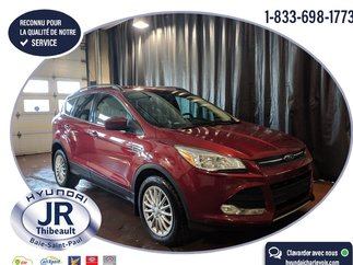 Ford Escape SE AWD 2L TURBO TRÈS BAS KILO CERTIFIÉ! 2015