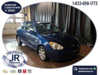 Hyundai Accent 3 PORTES AUTOMATIQUE 120000KM CERTIFIÉ 2008