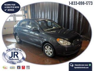 Hyundai Accent GL AUTO AIR + VITRES ÉLECTRIQUES BAS KM 2011