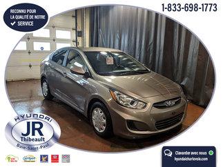 Hyundai Accent GL AUTO GROUPES ÉLECTRIQUES AIR CLIM. PNEUS HIVER 2012