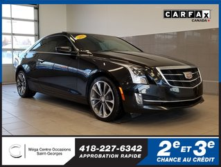 Cadillac ATS Coupe Performance / AWD / CUIR ROUGE 2015