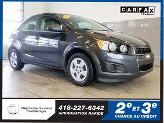 Chevrolet Sonic LT / automatique 2015