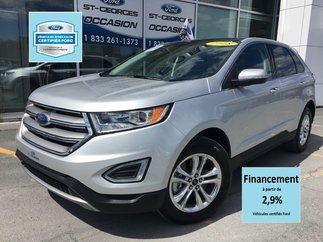Ford Edge SEL AWD CERTIFIÉ FORD TAUX A PARTIR 2.9% FULL 2018