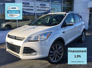 Ford Escape SE CHROME AWD CERTIFIÉ FORD TAUX 1.9 % 1 SEULE PRO 2015