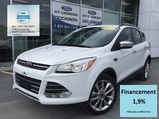 Ford Escape SE CHROME AWD CERTIFIÉ FORD TAUX 1.9% 72 MOIS 2016
