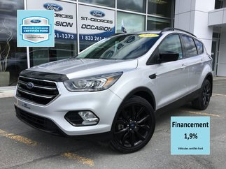 Ford Escape SE AWD BLACK PACK CERTIFIÉ FORD TAUX 1.9% 72 MOIS 2017