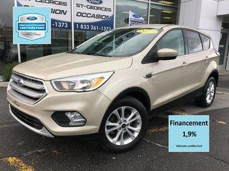 Ford Escape SE FWD CERTIFIÉ FORD TAUX 1.9% 72 MOIS SHOWROOM 2017