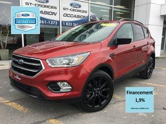 Ford Escape SE BLACK PACK AWD CERTIFIÉ FORD TAUX 1.9% 72 MOIS 2017