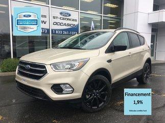 Ford Escape SE AWD GPS 2.0L CERTIFIÉ FORD TAUX 1.9% 72 MOIS 2017