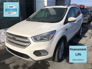 Ford Escape Titanium AWD CERTIFIÉ FORD T AUX A 1.9% CUIR TOIT 2018